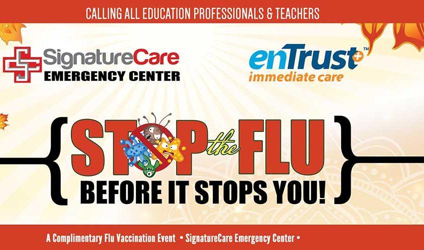 Free Flu Shot for Educators - Paris, Texarkana, TX