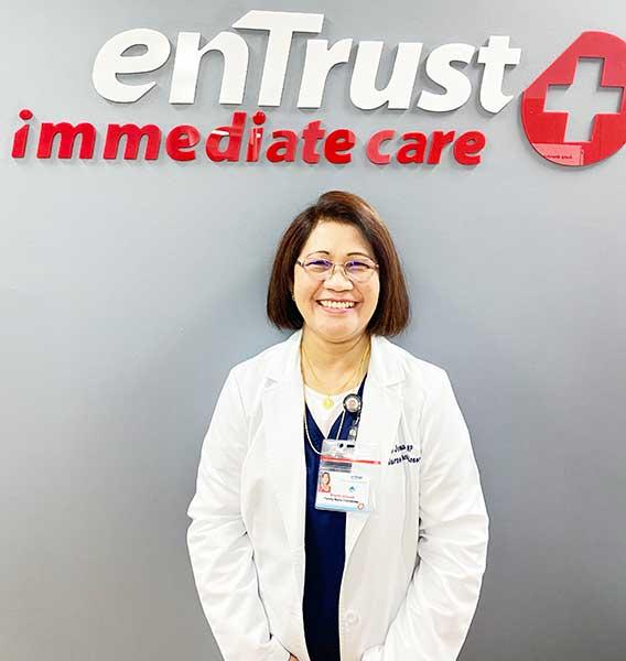 Brigitte Contreras Jomaud, FNP-BC, Houston Urgent Care Physician, enTrustcare Urgent Care